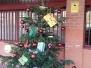 El Arbol de Navidad decorado por los alumnos